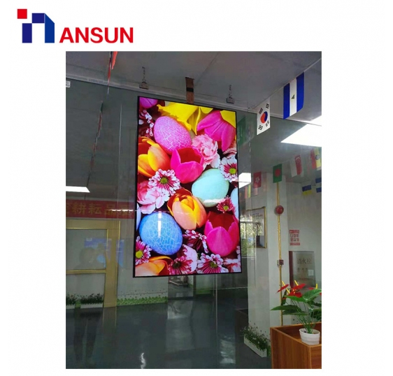 55'' Ceiling Type Double-Sided OLED Advertising Screen For Display